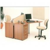 00 - Conjunto de móveis para escritório Coleção Compact