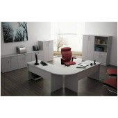 00 - Conjunto de móveis para escritório Coleção Avva - Composição 3